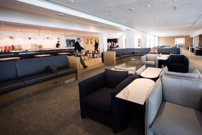 BA Club Lounge JFK