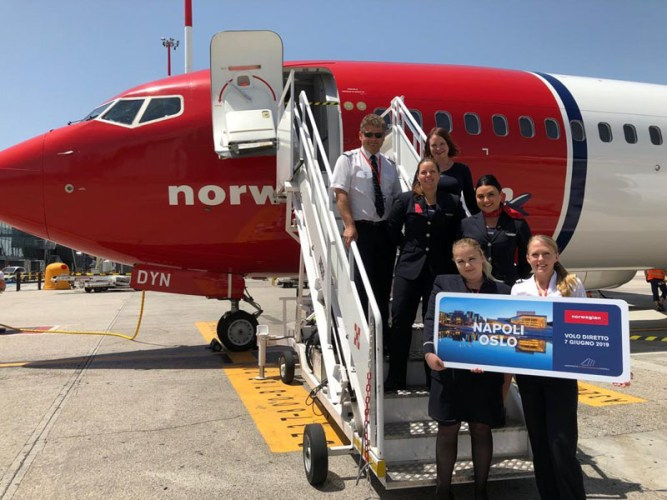 Norwegian Napoli Oslo
