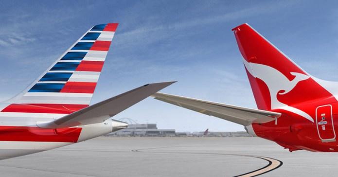 Qantas American Airlines