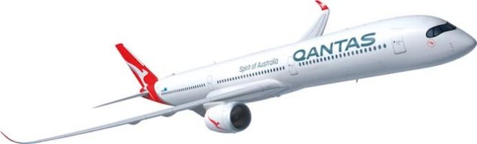 A350 1000 Qantas livery