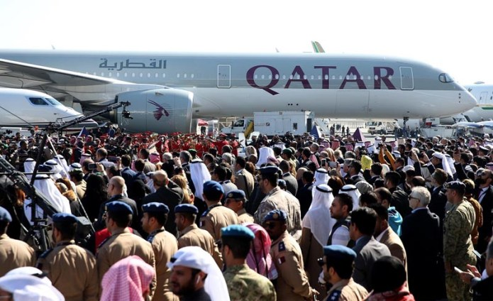 Qatar Airways Kuwait Airshow