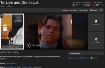 to live and die in la willem defoe closeup with movie poster in inset