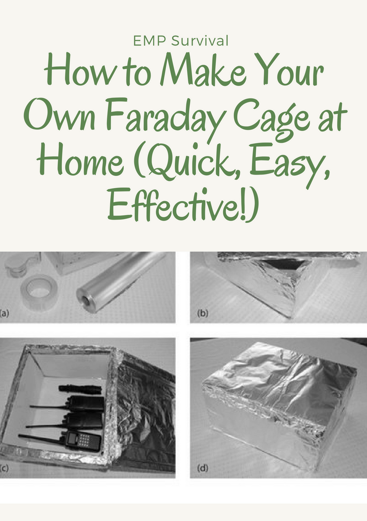 how to create a faraday cage