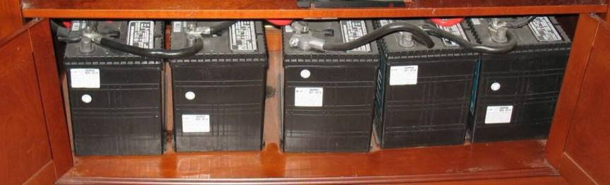 battery-bank-for solar power set up and system