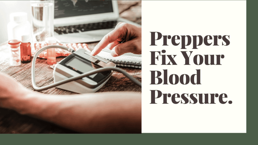 Fix Your Blood Pressure