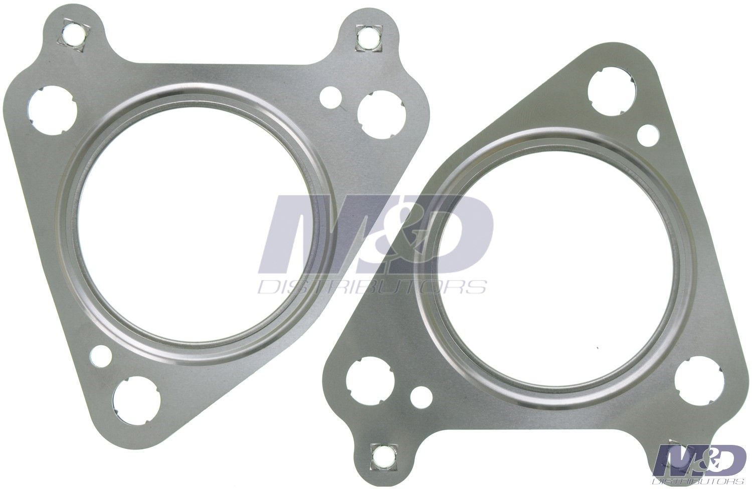 2001 2016 6 6l duramax turbocharger exhaust pipe flange gasket set of 2