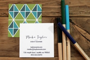 calling_card_mod_triangles_olive_and_blues_single