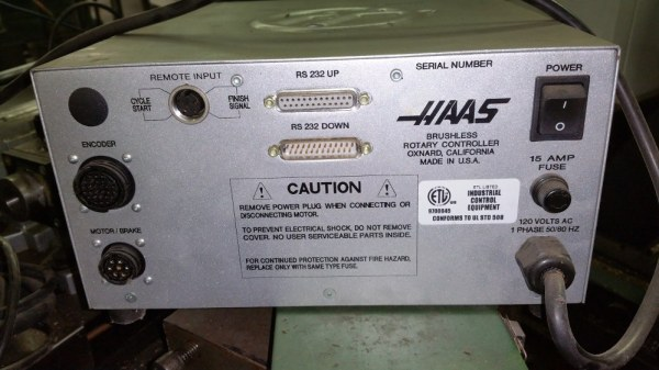 Haas Dual Rotary Indexer w/ Rotary Controller – 2009 ...