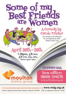 Some of My Best Friends are Women poster April 17