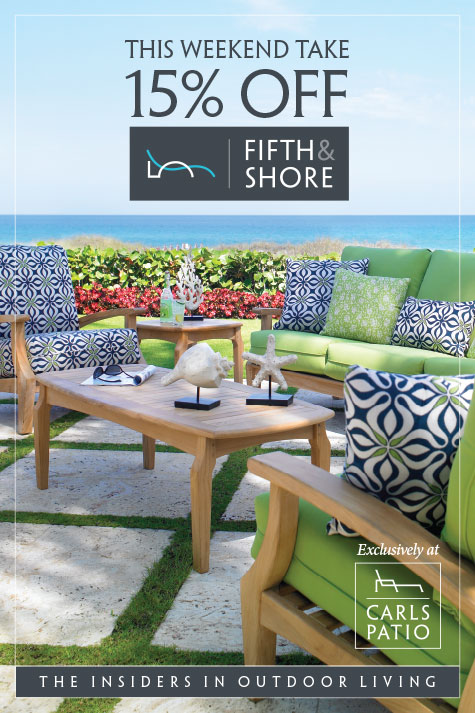 carls patio launches fifth shore mdg