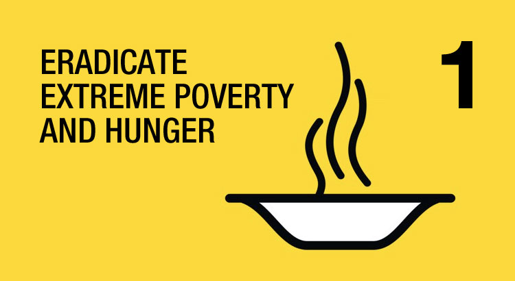 Goal: Eradicate extreme poverty and hunger
