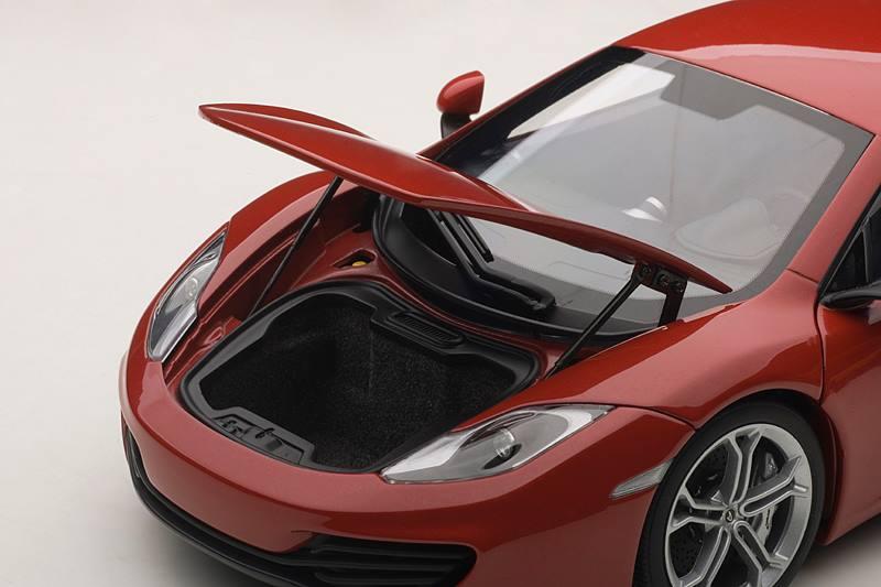 AUTOart McLaren MP4 12C Red 76008 In 118 Scale MDiecast