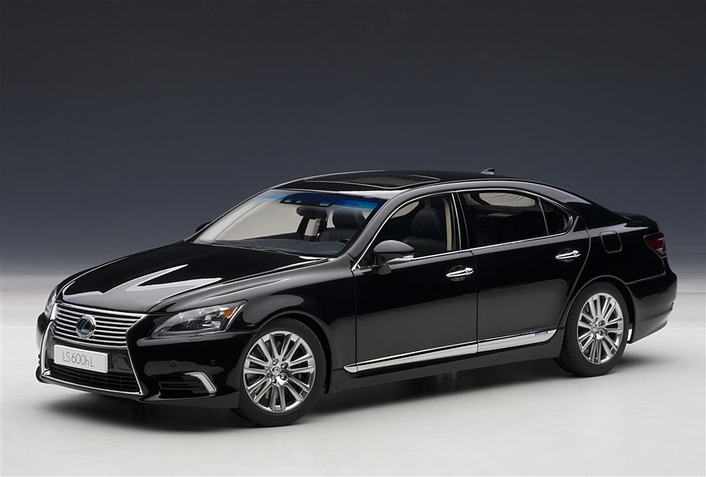 AUTOart Lexus LS600hL Black 78842 In 118 Scale