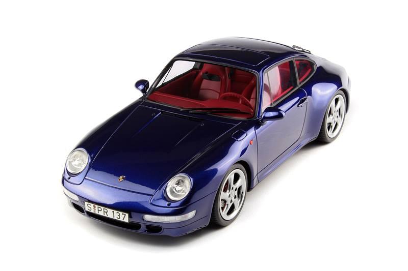 GT Spirit Porsche 911 993 Carrera 4S Blue GT012ZM In 118 Scale MDiecast