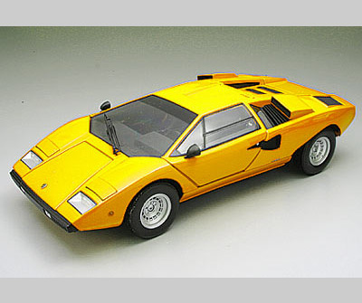 Kyosho Lamborghini Countach L400 Yellow 08321Y In 118 Scale MDiecast