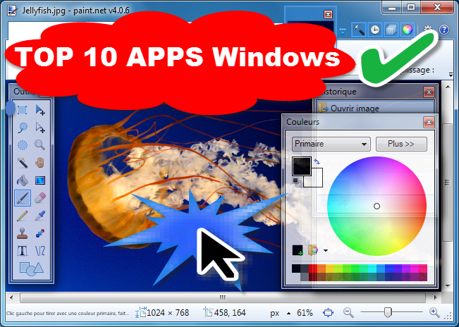 Top 10 Applications Windows