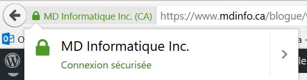 Certificat de sécurité Informatique sous Firefox