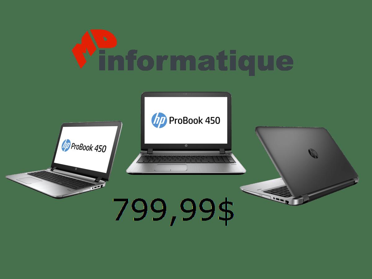 HP ProBook 450 G3 MD Informatique