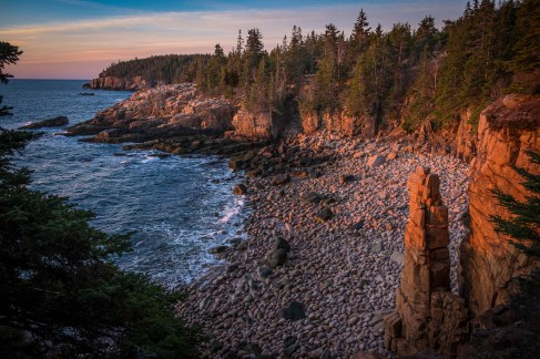 Monument Cove at Sunrise by Ken Small
