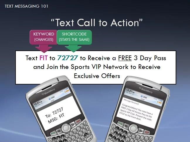 creación CTA para SMS marketing