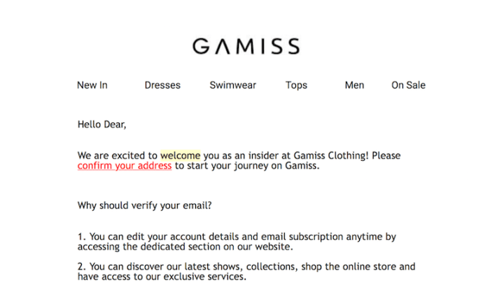 gamiss email