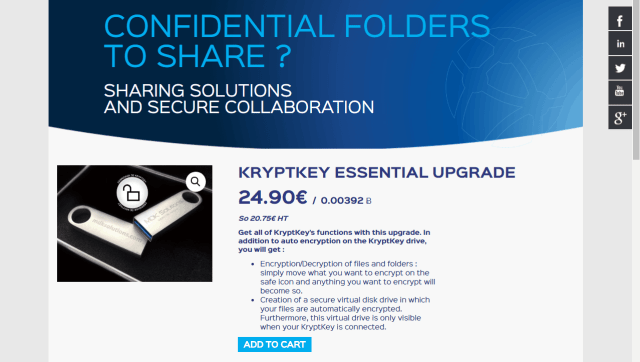 How to upgrade your KryptKey