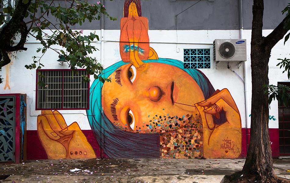 Grafiti na Vila Madalena