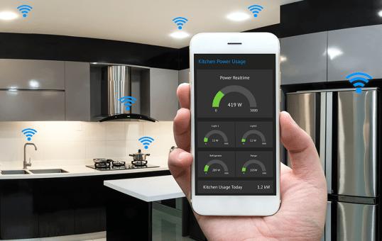 Celular para controlar eletrodomésticos inteligentes