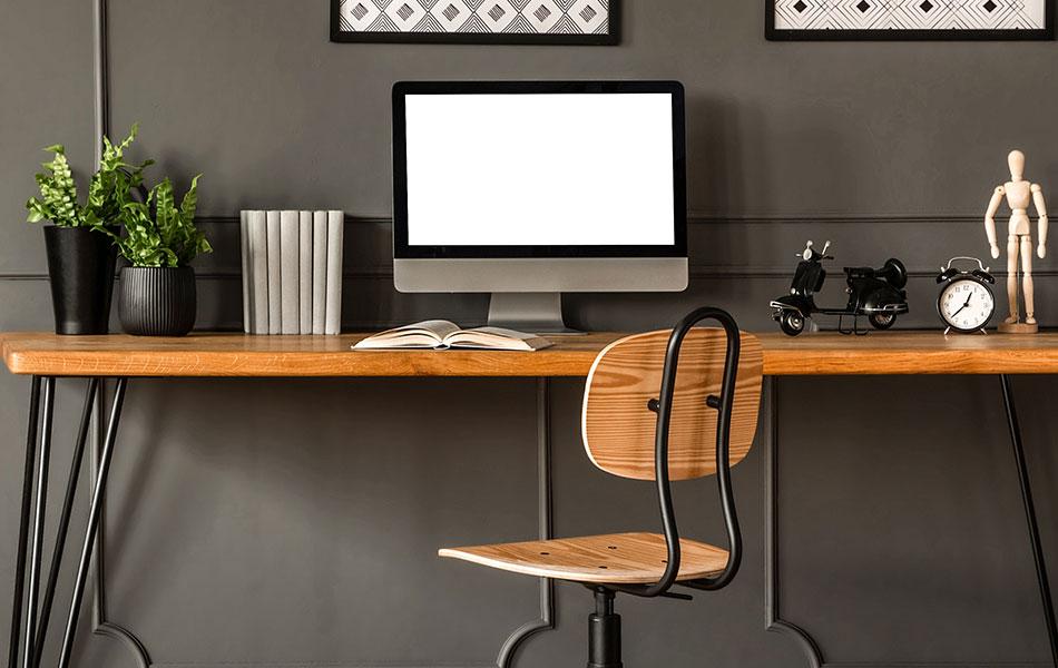 elementos diferentes home office