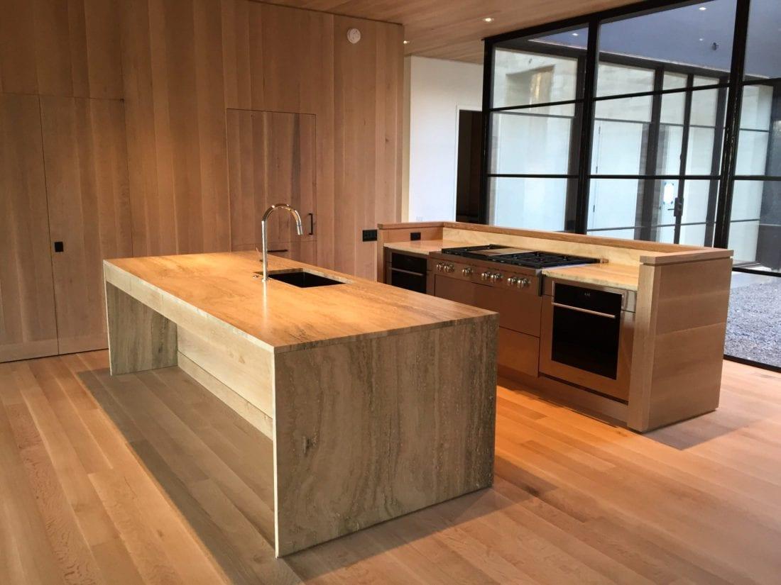 Quarter Sawn White Oak Cabinets MDM Design Studio