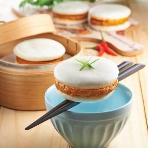 Otah Macaron Bun - 4 pcs