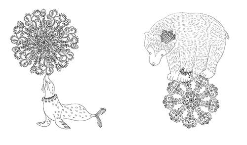 大人のぬりえ「花と夢いっぱいのぬりえ 本2冊+24色の色鉛筆セット」発売