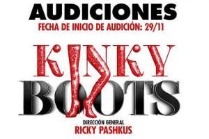 """Realizan audiciones para el musical """"Kinky Boots"""""""