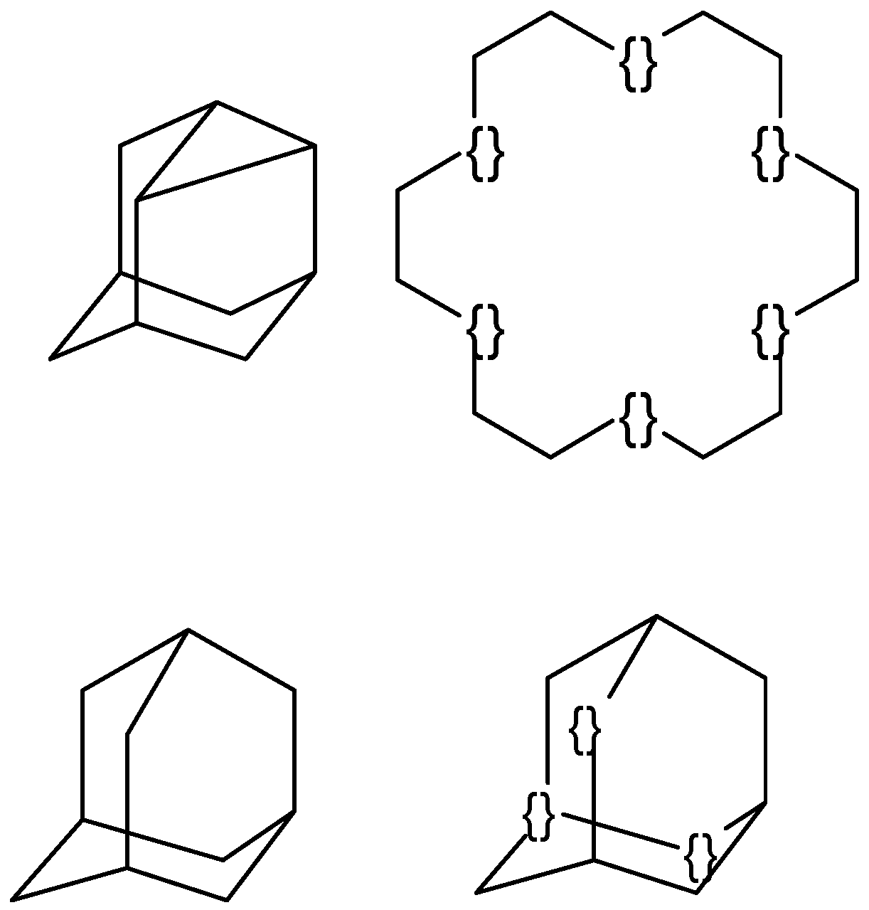 Line Drawing Of Molecules