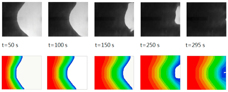 Dye Injection Technique Flow Visualization