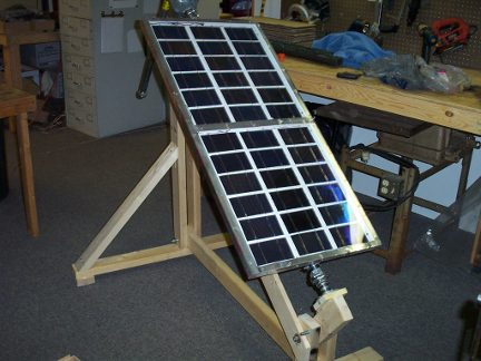 My solar tracking platform.