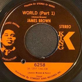 James Brown - World - King - mdrecords.co.uk