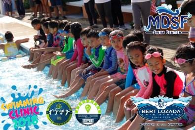 MDSF Swim Center Supports LGU's Free Summer Workshop