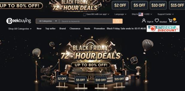 Geekbuying Black Friday 2020 | Best Deals, Coupon and Discount