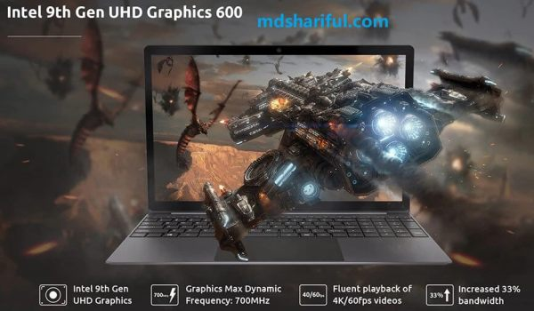 BMAX X15 Review graphics