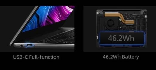 Chuwi CoreBook X battery