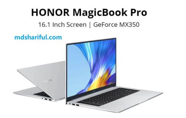 Honor Magicbook Pro at Alibaba