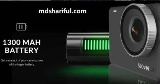 SJCAM SJ10 Pro 4K Action Camera battery