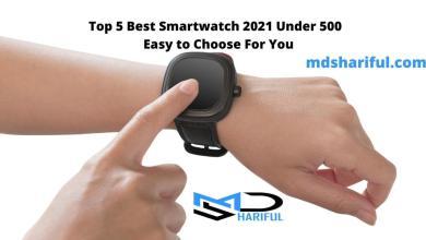 Top 5 Best Smartwatch 2021 Under 500