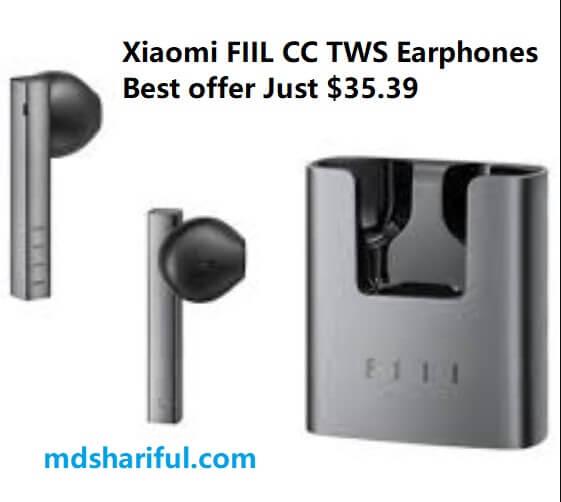 Xiaomi FIIL CC TWS Earphones at Aliexpress