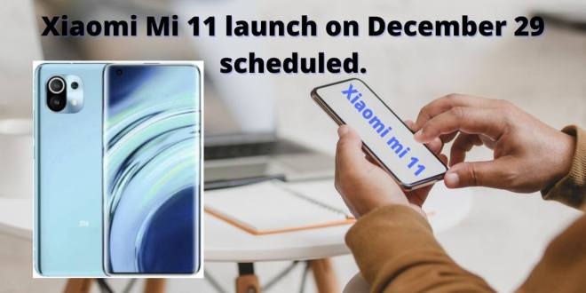 Xiaomi Mi 11 launch