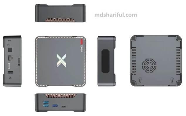 A95X MAX II design