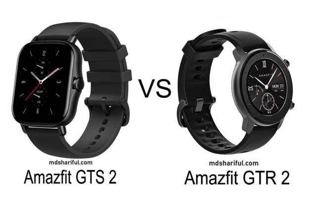 Amazfit GTS 2 vs GTR 2