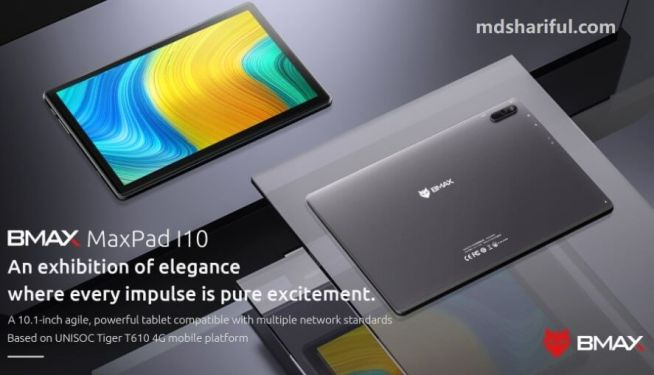 BMAX MaxPad I10 design