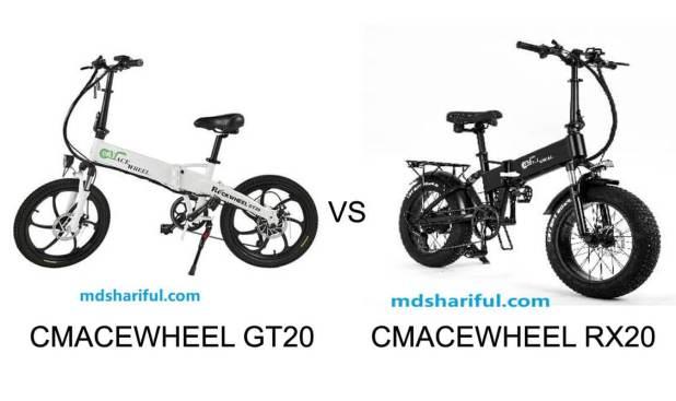 CMACEWHEEL GT20 vs RX20